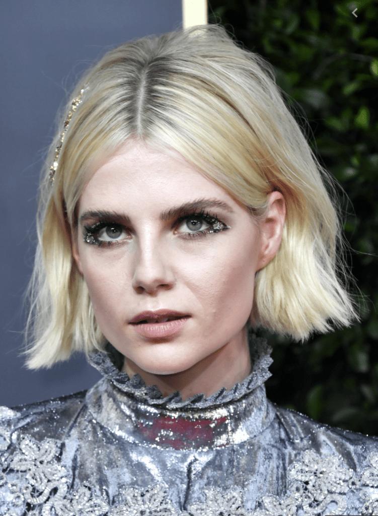 Lucy Boynton Golden Globe 2020 Makeup