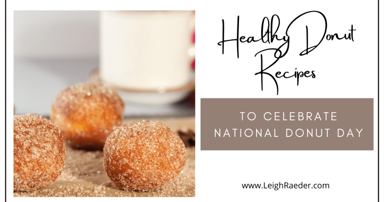Healthy Donut Recipes to Celebrate National Donut Day