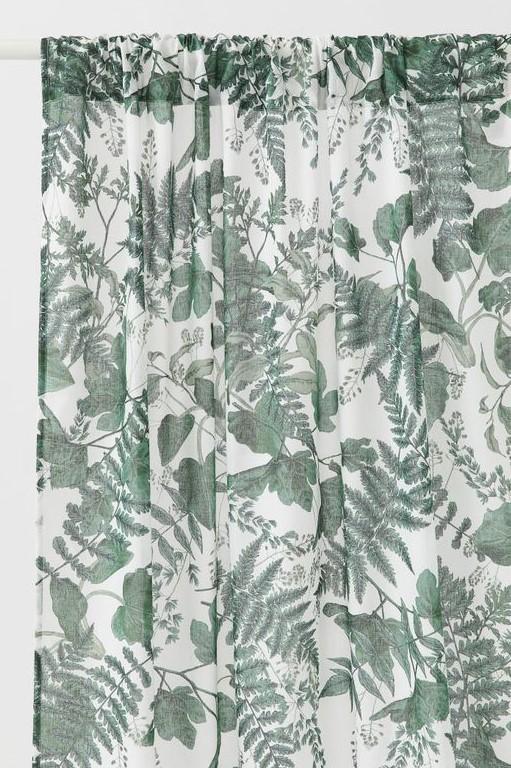 HM Leafy Readymade Curtains