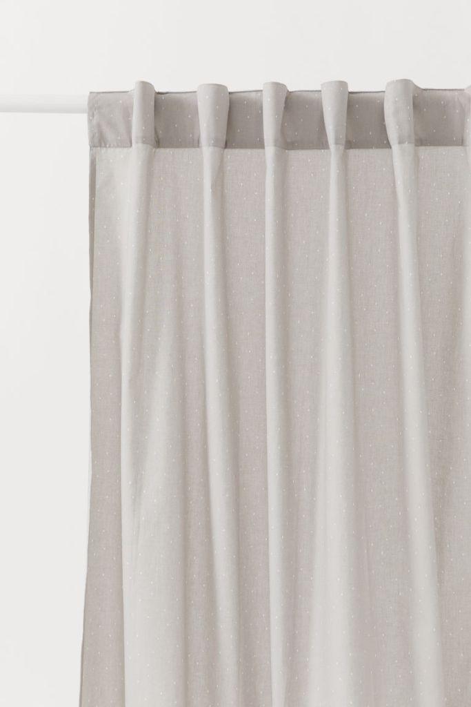HM Subtle Spot Readymade Curtains