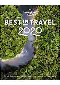 Cover of Coffee Table Book Best In Travel 2020