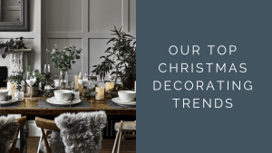 Scandinavian style dining table set for Christmas - Christmas Decorating Trends 2019