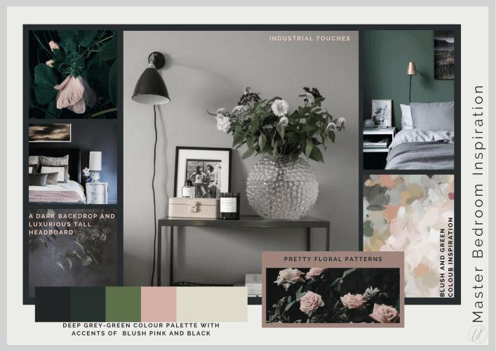 interior design inspiration for a bedroom