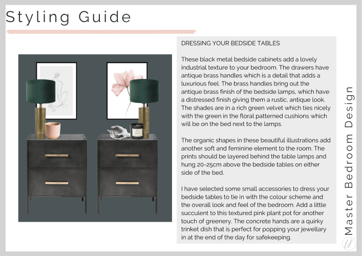 A styling guide for bedside tables