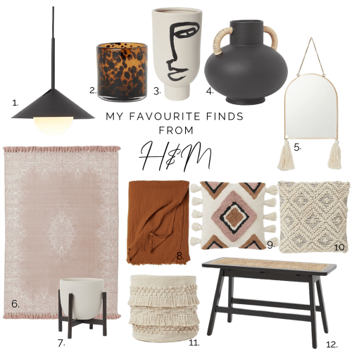 Shop the look moodboard with interiors items