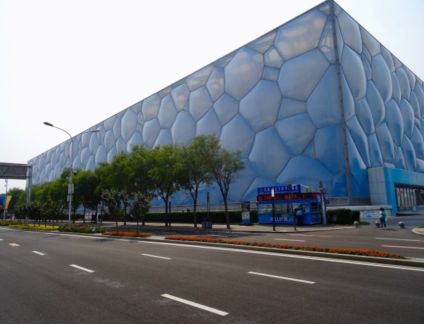 Exterior The Water Cube National Aquatics Center Beijing