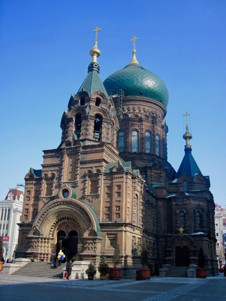 Saint Sophia Church Harbin Heilongjiang province China