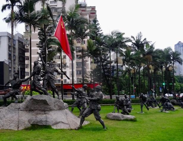 War memorial Xiamen Fujian province China