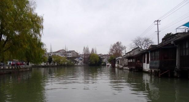 Suzhou canal cruise from Shantang Street Jiangsu Province China