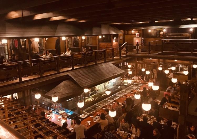 Kill Bill Restaurant Gonpachi Nishiazabu Tokyo
