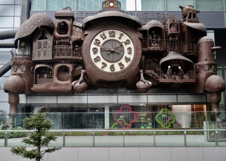 The Ghibli Clock Tokyo.