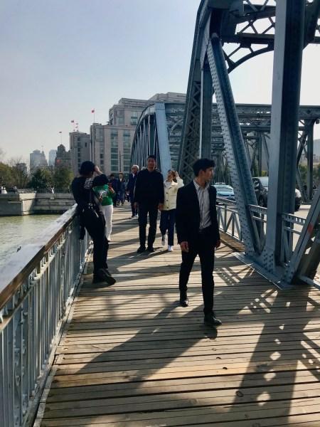 Waibaidu Bridge Shanghai.