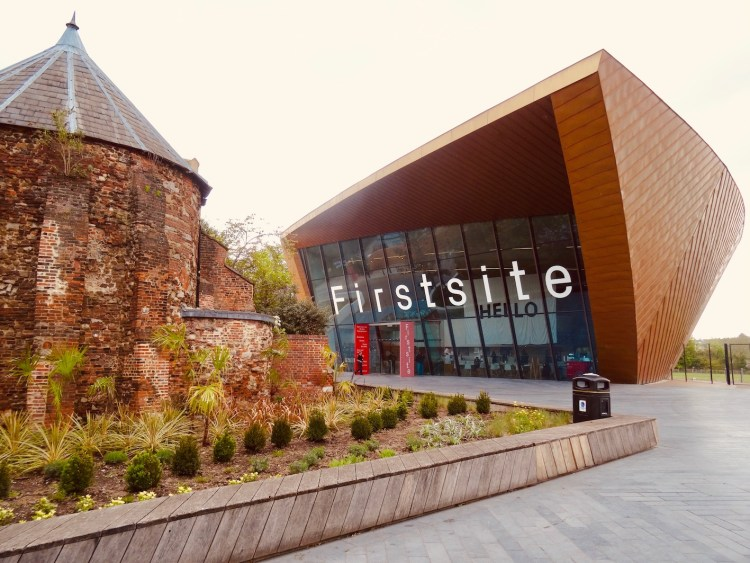 Visit Firstsite Art Gallery Colchester England.