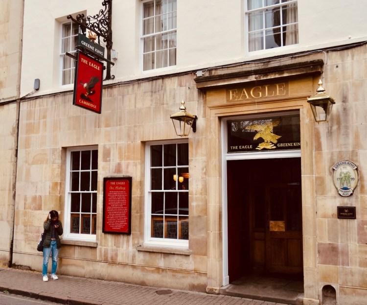 Visit The Eagle Pub Cambridge.