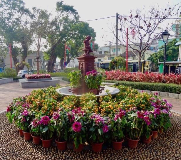 Coloane Village Macau.