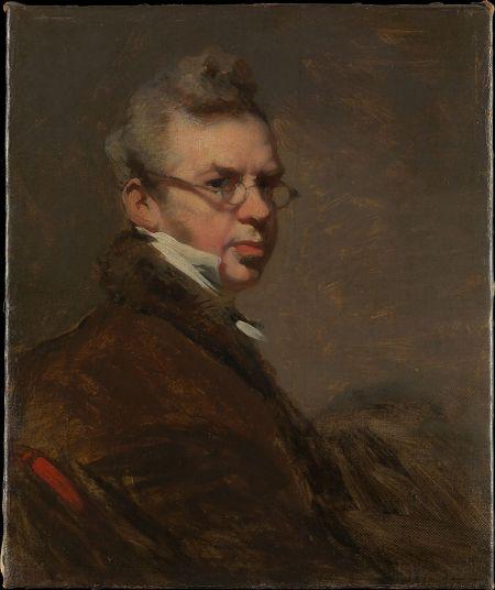 English painter George Chinnery self portrait.