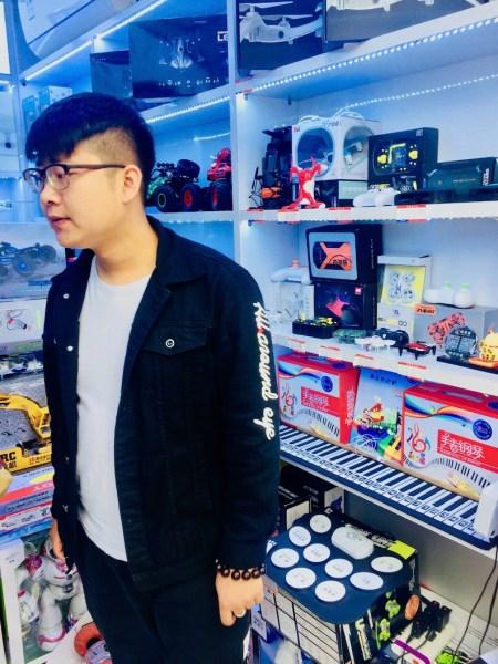 Huaqiangbei Electronics District in Shenzhen.