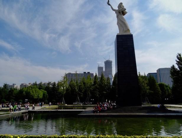Nanjing Massacre Memorial Jiangsu Province China.