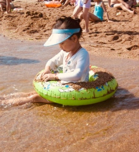 Number 1 Bathing Beach Qingdao China.