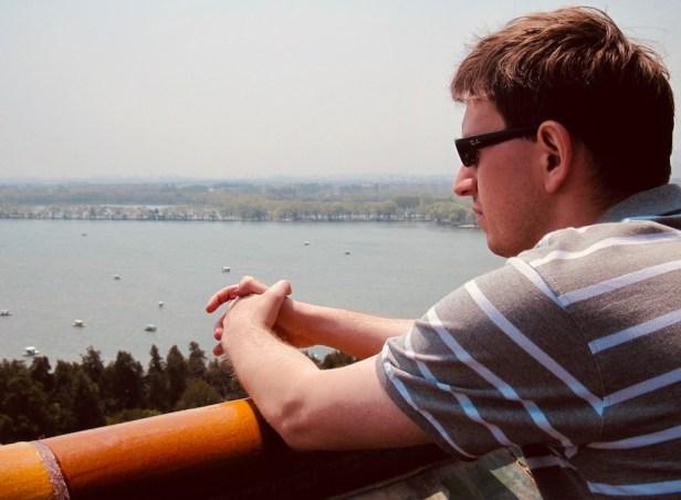 Views over Kunming Lake The Summer Palace Beijing.