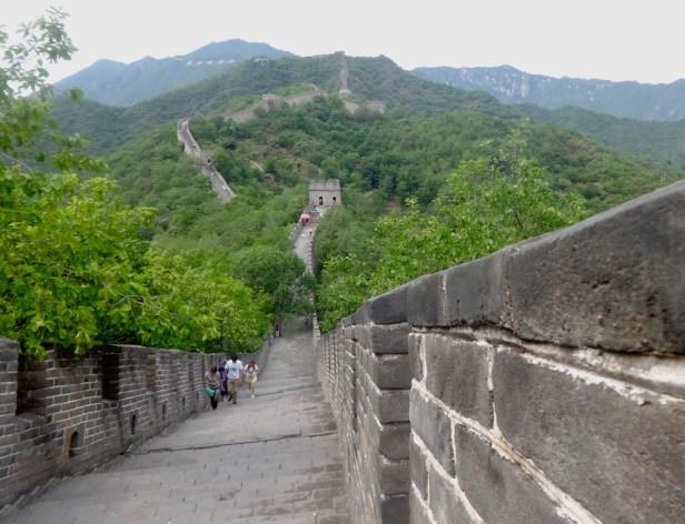 Hiking The Great Wall of China Mutianyu.