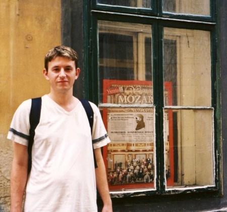 Visit Mozart's House Vienna Austria.