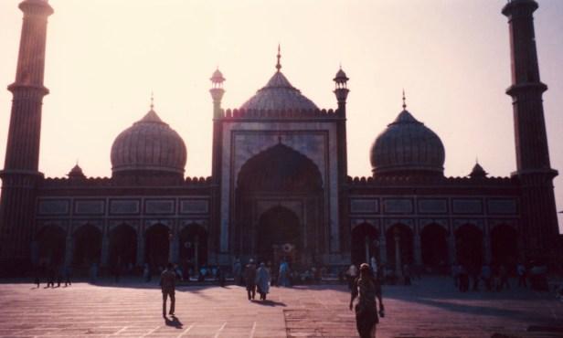Jama Masjid Mosque New Delhi India.