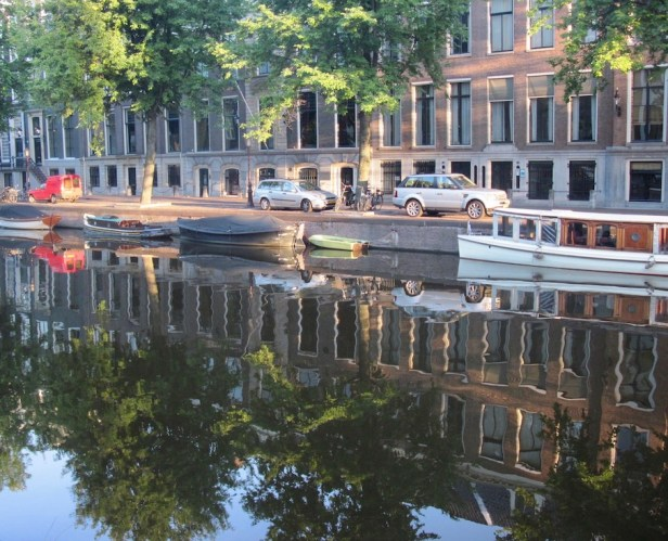 Herengracht Canal Amsterdam.