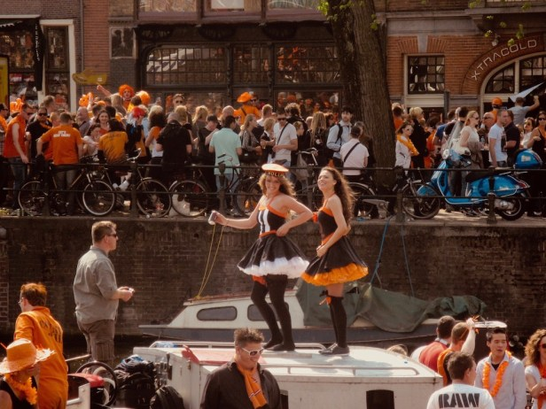 Queen's Day Amsterdam.