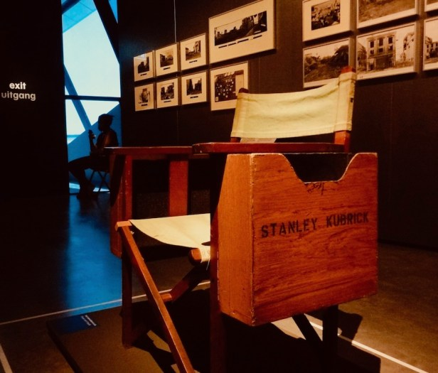 Stanley Kubrick's Director Chair Eye Film Museum Amsterdam.