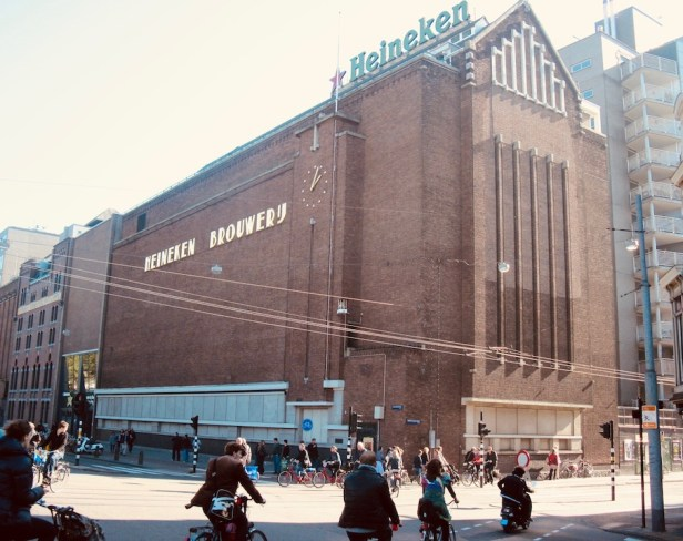 The Heineken Experience Amsterdam.