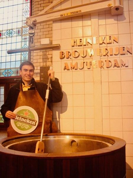 Visit The Heineken Experience Museum.