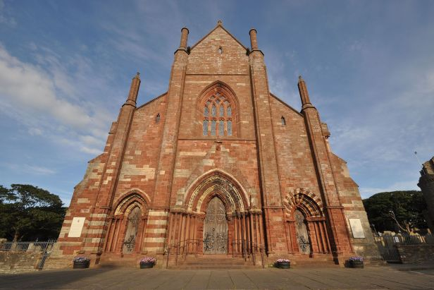 St. Magnus Cathedral Kirkwall Orkney.