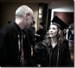 Rachel graduates from AI