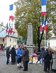 Armistice Day Celebration in Albertville, France, 2002