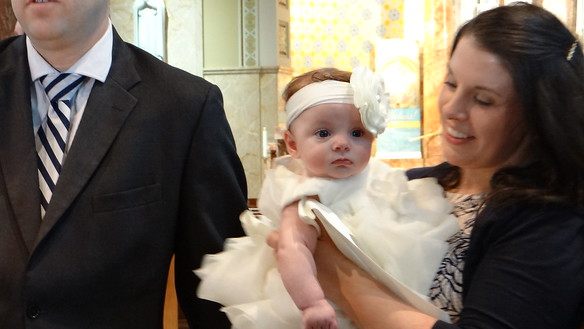 Harper Grace Christening