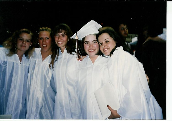 Graduation - Julie, Lisa, Jenny, Olivia and I