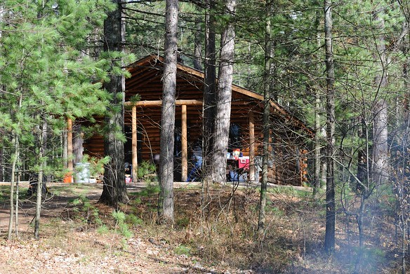 Tom's Lake Cabin - Hiawatha National Forest - Michigan