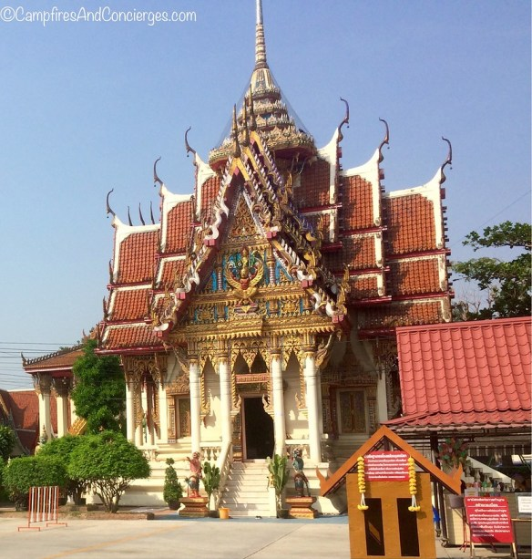 Wat Bang Phra - I hired a driver to bring me here for a Sak Yant (tattoo)