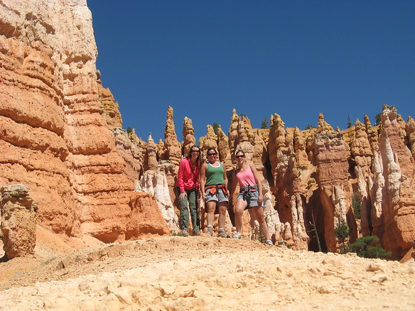 9/12 - Jenny, me and Lisa at Bryce Canyon
