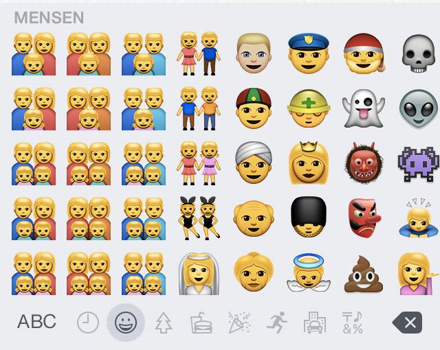 Apple komt met politiek correcte emoji's | apple-emoji-8-3-3