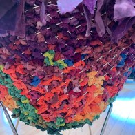 Rainbow Chair Back (detail)