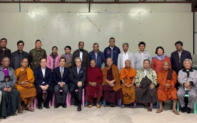 Sharing Indonesia Experience with Myanmar's Religious Leader