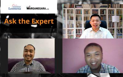 Membekali Lulusan Baru dalam Webinar Ask The Expert: Peluang Kerja Paska Pandemi Covid-19