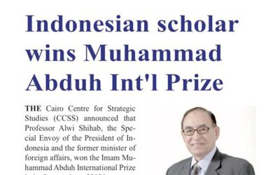 "Penghargaan Internasional ""Imam Muhammad Abduh"""