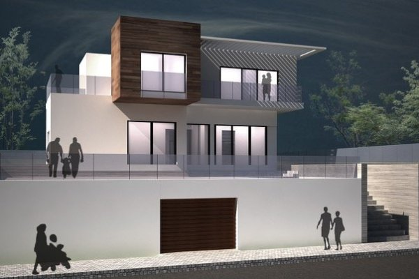 MODERN VILLA UNDER CONSTRUCCTION