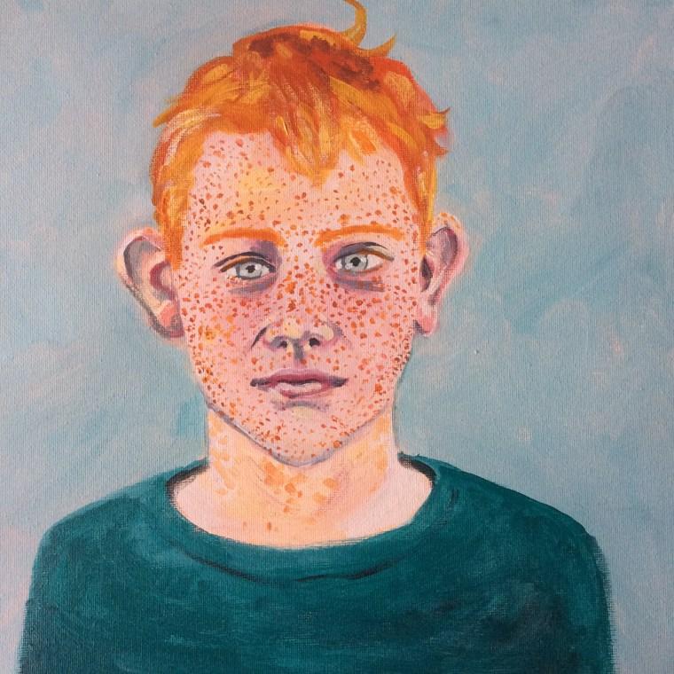 een vrij realistisch portret