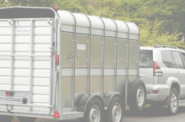 do i need a licence to tow a trailer in ireland, horse box towing