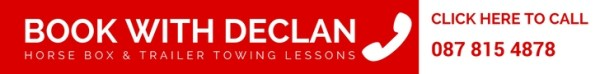 jeep trailer lessons, horse box towing lessons, towing lessons wexford