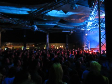 Conne Island, Leipzig venue where the Alabama Shakes concert took place on June 30, 2015. Photo by A. Ribeiro.